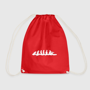 Rowing evolution boat gift rower water sports - Drawstring Bag