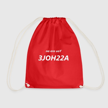 you are an asshole - Drawstring Bag