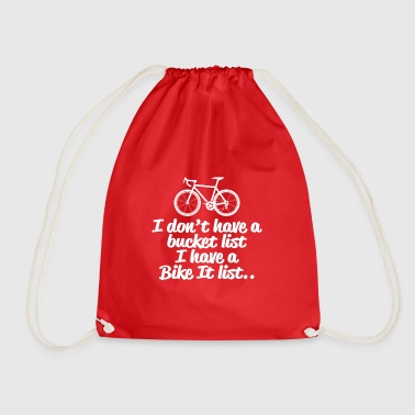 Cycling Bike it List - Drawstring Bag