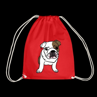 Bulldog - Drawstring Bag