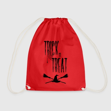 Truc van Halloween van de heks trick or treat - Gymtas