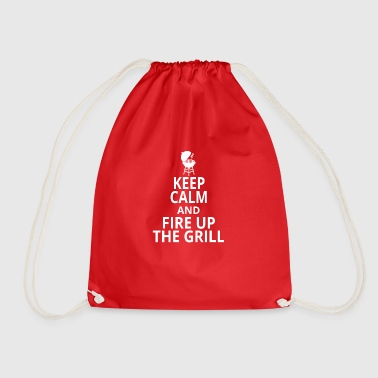 Fire up the grill - Drawstring Bag