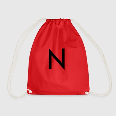 The N - Drawstring Bag