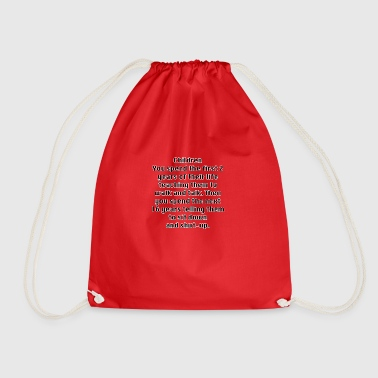 Children teach and then re-teach - Drawstring Bag