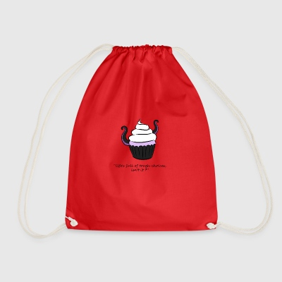 Ursula in Cupcake - Drawstring Bag