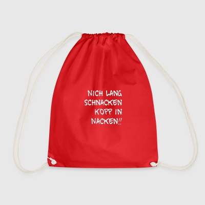 Not a long wait, Kopp in the neck - Drawstring Bag