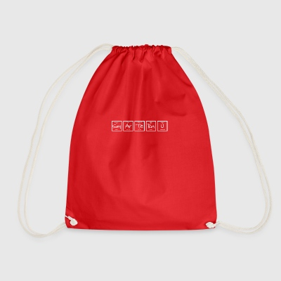 SmArTeRnU White - Drawstring Bag