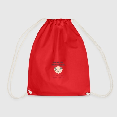 When I was a kid 01 - Drawstring Bag