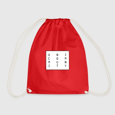 uni logo - Drawstring Bag