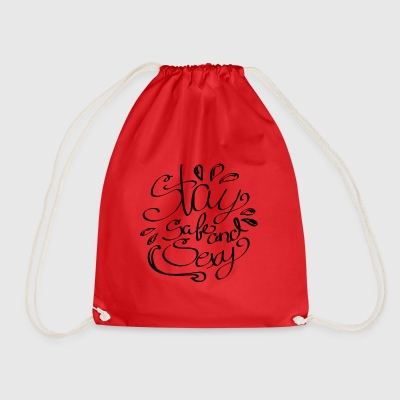 Staysafeandsexy2 - Drawstring Bag