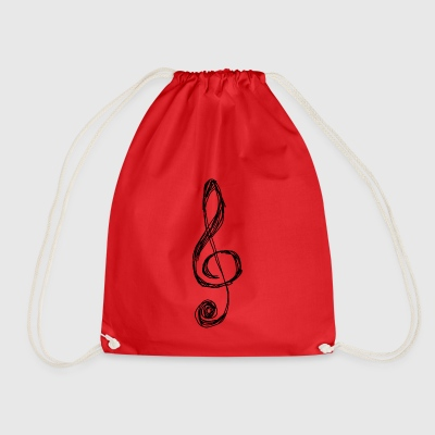 clef - Drawstring Bag