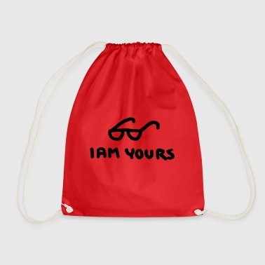 I am yours - Drawstring Bag