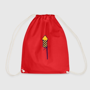 Rocket New Year - Drawstring Bag