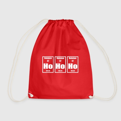 xmas HoHoHo - Drawstring Bag