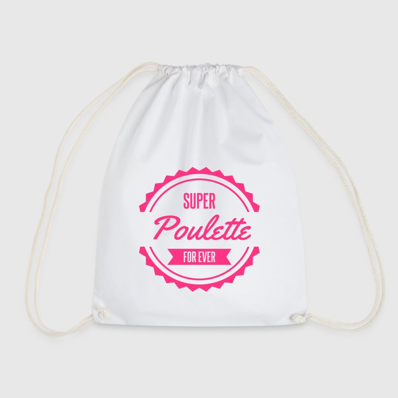 super poulette for ever - Sac de sport léger