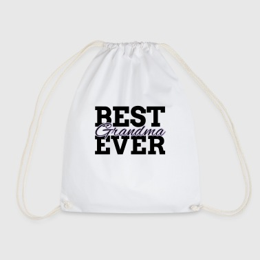 BEST GRANDMA EVER - Drawstring Bag