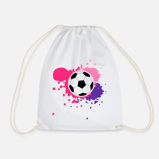 2557372b Lila Vesker & ryggsekker - Fotball med rosa og lilla for Women's World Cup  - Gymbag