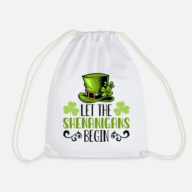 Politics Start nonsense st patrick's day gift irisc - Drawstring Bag