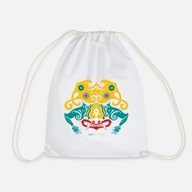 Borneo Borneo Mask - Drawstring Bag
