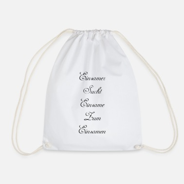 Lonely lonely - Drawstring Bag