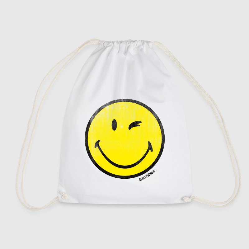 SmileyWorld Classic Wink Smiley - Gymtas