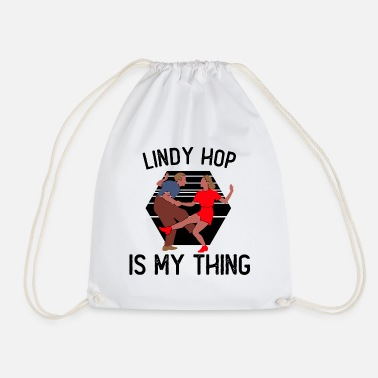 30 Lindy Hop | Swing | Swing music | Gift idea - Drawstring Bag