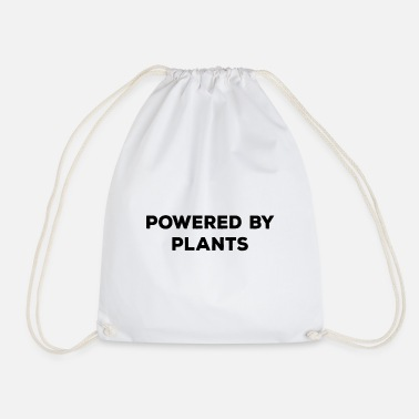 Power Plant Powered By Plants - Drawstring Bag