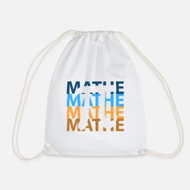 Math Mathe Maths - Drawstring Bag