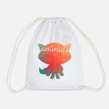 Animals Animals animal - Drawstring Bag
