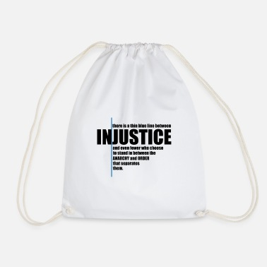 Injustice INJUSTICE! GIFT IDEA - Drawstring Bag