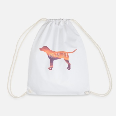 Cute Dog Cute dog - Drawstring Bag