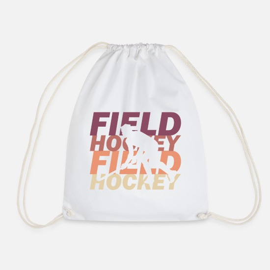 Field Hockey Bags & Backpacks - field Hockey - Drawstring Bag white