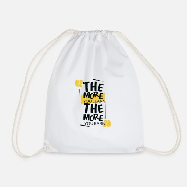 Learning Learn - Drawstring Bag