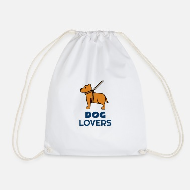 Dog Lovers Dog lovers for dog lovers - Drawstring Bag