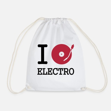Cd i dj / play / listen to electro - Gymnastiktaske
