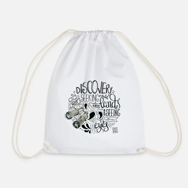 Discovery Travel and discovery - Drawstring Bag