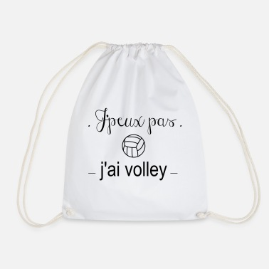 I do not volley - Drawstring Bag