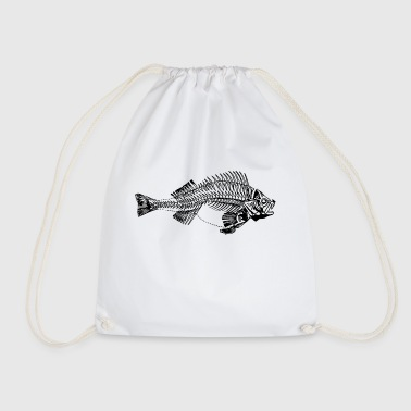 Aggressive Aggressive perch - Drawstring Bag