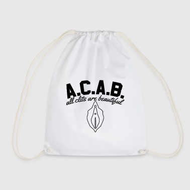 A.C.A.B. - All Clits Are Beautiful - Turnbeutel