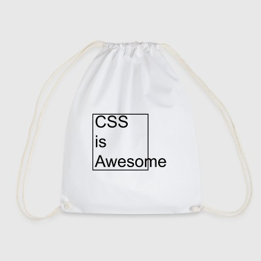 CSS is Awesome - Drawstring Bag