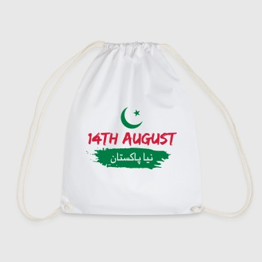 Naya Pakistan - Pakistan Independence Day - Drawstring Bag
