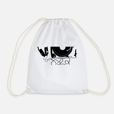 Turntable turntable - Drawstring Bag