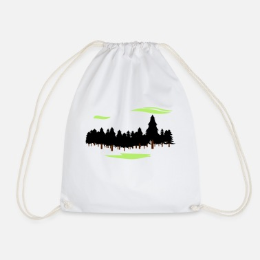 Forest Forest Forest - Drawstring Bag