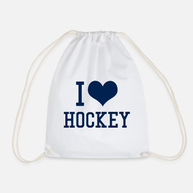 I I Love Hockey - Turnbeutel