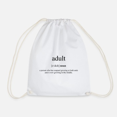 Adult Adult (adult) - Drawstring Bag