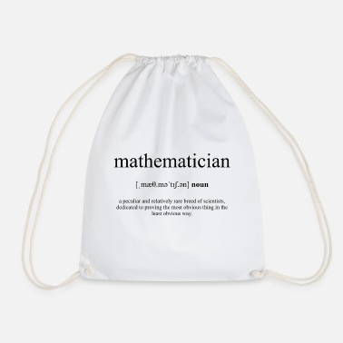 Mathematician Mathematician (mathematician) - Drawstring Bag