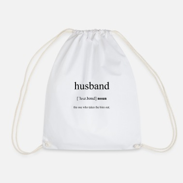 Husband Husband (husband) - Drawstring Bag