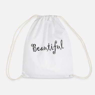 Beauty Therapist beautiful - Drawstring Bag