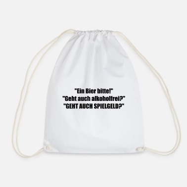beer - Drawstring Bag