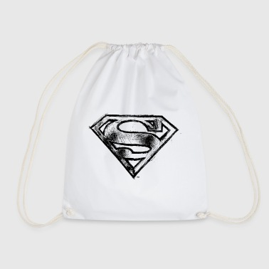 Superman S-Shield Logo black and white - Jumppakassi